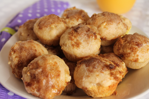 apple cinnamon muffins lower in sugar