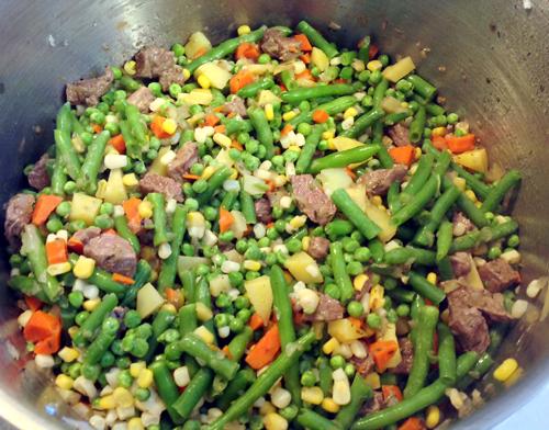 homemade vegetable soup like grandma used to make