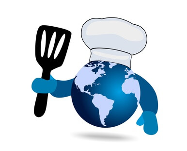 Looking for World Dinner Representation for Food Blog