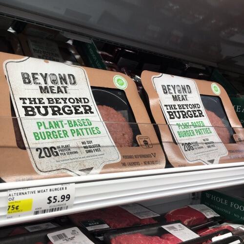 Plant-Based Veggie Burger