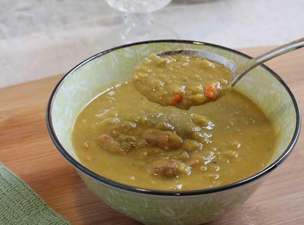Pea Soup Simple Split Pea