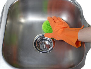 Clean and healthy Kitchen Sink