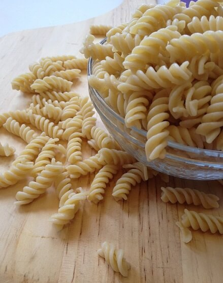storing cooked pasta
