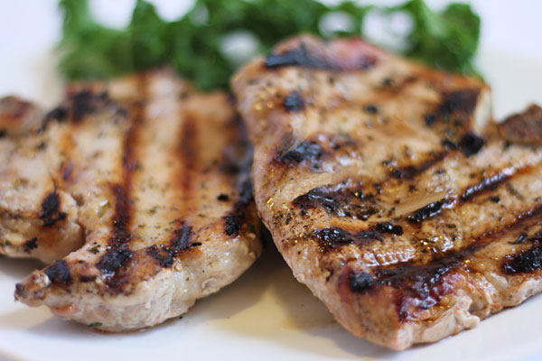 Ranch Rubbed Pork Chops Grilled or Baked
