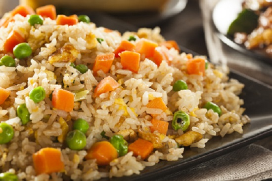 healthy fried rice for family meals
