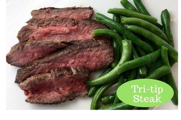 Skillet Tri-trip Steak