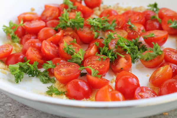 Sauteed Cherry Tomatoes Recipe Cooked