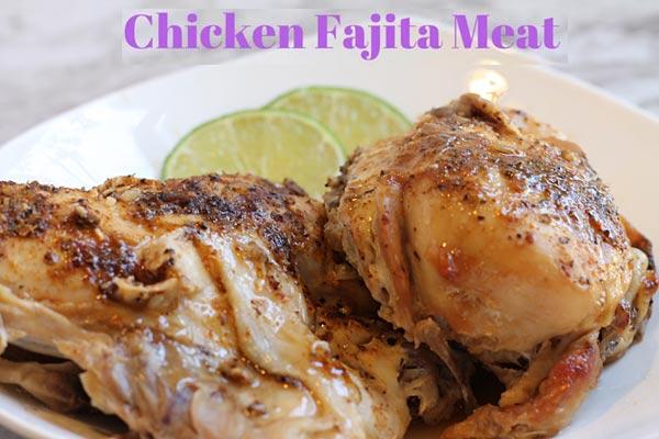 Slow Cooker Chicken Taco or Fajita Meat