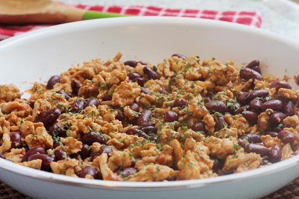 Ground Turkey Rice Bowl