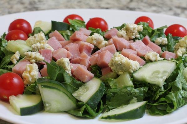 Diced Ham Salad